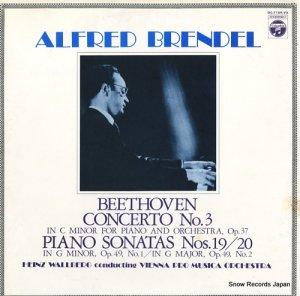 アルフレッド・ブレンデル - ベートーヴェン:ピアノ協奏曲第3番 - OC-7189-VX