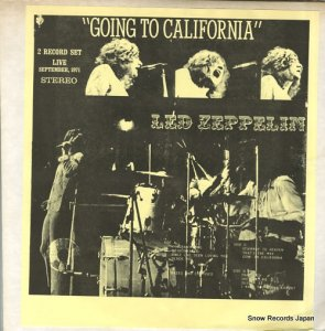 レッド・ツェッペリン - going to california - WEC3713