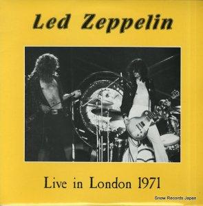 レッド・ツェッペリン - live in london 1971 bbc broadcast - MR107
