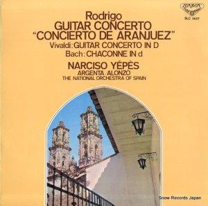 ナルシス・イエペス - ロドリーゴ:アランフェス協奏曲 - SLC1457