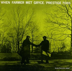 アート・ファーマー&ジジ・グライス - when farmer met gryce - OJC-072