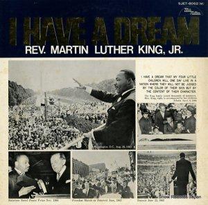 マーティン・ルーサー・キングJR. - 私には夢がある/キング牧師名演説集 - SJET-8062(M)