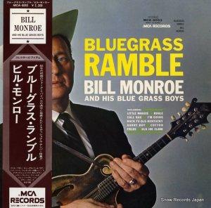 ビル・モンロー - ブルーグラス・ランブル - MCA-6053