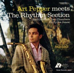アート・ペッパー - art pepper meets the rhythm section - APJ010