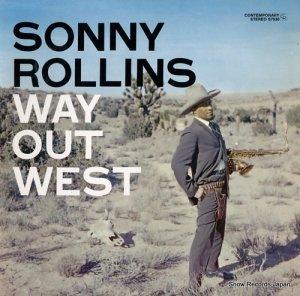 ソニー・ロリンズ - way out west - OJC-337