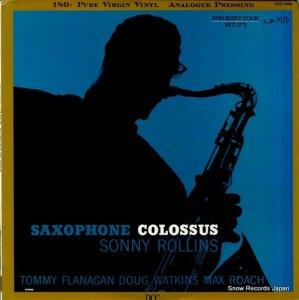 ソニー・ロリンズ - saxophone colossus - LPZ-2008