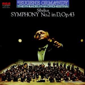 ユージン・オーマンディ - シベリウス:交響曲第2番ニ長調作品43 - RCL-1509