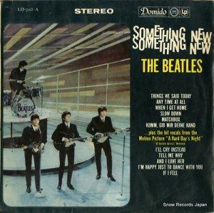 ザ・ビートルズ - something new - LD-263-A