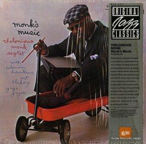 セロニアス・モンク - monk's music - OJC-084