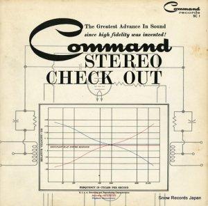 チャールス・スターク - コマンド・ステレオ装置テスト用レコード - SC1