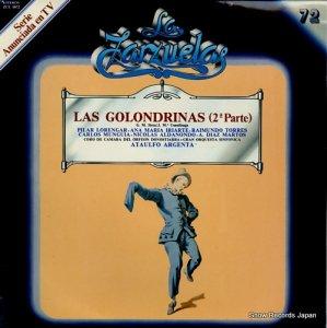 アタウルフォ・アルヘンタ - las golondrinas (2a parte) - ZCL1072