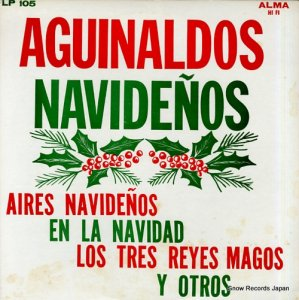 PEDRO PADILLA - aguinaldos navidenos - ALMA-105 / LP-105