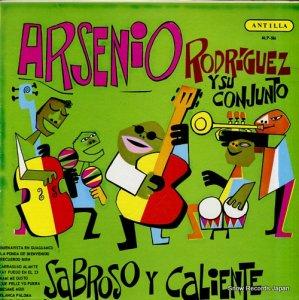 アルセニオ・ロドリゲス - sabroso y caliente - MLP-586