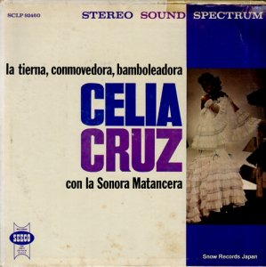 セリア・クルス - la tierna, conmovedora, bamboleadora - SCLP92460