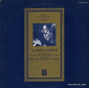 アルフレッド・コルトー - シューマン:交響練習曲 - GR-2031