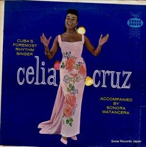 セリア・クルス - cuba's foremost rhythm singer - CELP-432