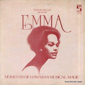 エマ・ベアリー - moments of hawaiian musical magic - MOP34000
