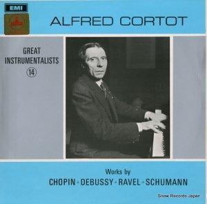 アルフレッド・コルトー - great instrumentalists 14 - HQM1182