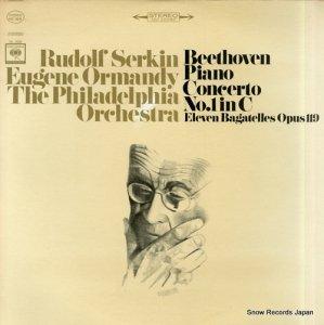 ルドルフ・ゼルキン - beethoven; piano concerto no.1 in c - MS6838