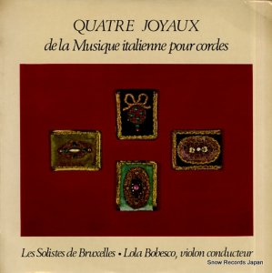 ローラ・ボベスコ - quatre joyaux de la musique italienne pour cordes - DB143C