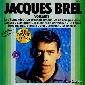 ジャック・ブレル - jacques brel volume 2 - 6886150