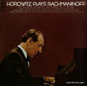 ウラディミール・ホロヴィッツ - horowitz plays rachmaninoff - M30464
