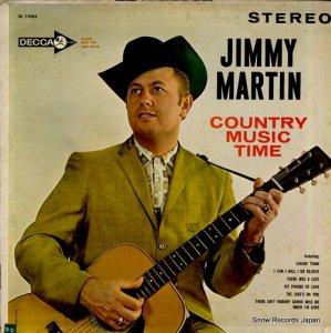 ジミー・マーティン - country music time - DL74285