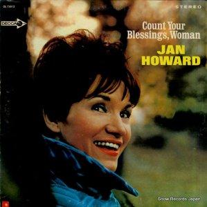 ヤン・ハワード - country your blessings, woman - DL75012