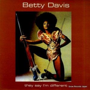 ベティー・デイヴィス - they say i'm different - UFOXY3LP