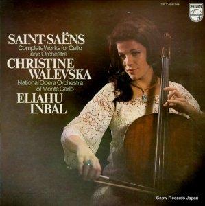 クリスティーヌ・ワレフスカ - サン=サーンス:チェロ協奏曲第1番&第2番 - SFX-8698