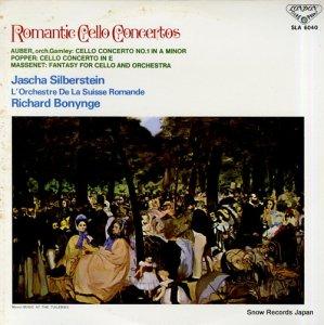 ヤッシャ・シルバースタイン - ロマンティック・チェロ協奏曲 - SLA6040