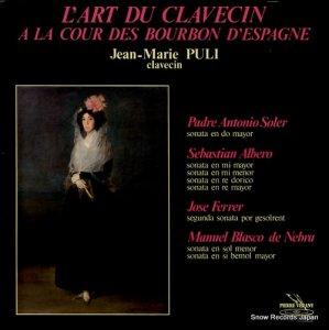 JEAN-MARIE PULI - l'art du clavecin - PV.8222