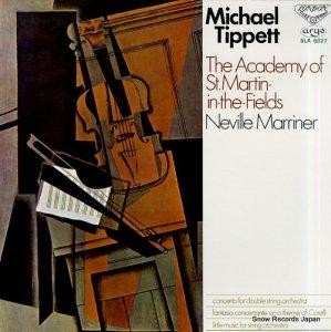 ネヴィル・マリナー - ティペット:2つの弦楽オーケストラのための協奏曲 - SLA-6027