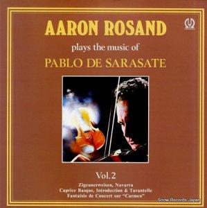 アーロン・ロザンド - サラサーテ:ヴァイオリン曲集第2集 - H-6025V