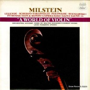 ナタン・ミルシテイン - 魅惑のヴァイオリン名曲集 - CA.7638