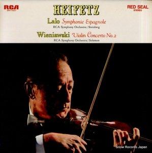 ヤッシャ・ハイフェッツ - ラロ:スペイン交響曲 - SRA-2827