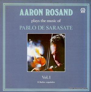 アーロン・ロザンド - サラサーテ:ヴァイオリン曲集第1集 - H-6024V