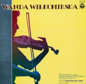 ワンダ・ウィウコミルスカ - ヴィエニアフスキ/シマノフスキ:ヴァイオリン協奏曲 - OQ-7231-PM