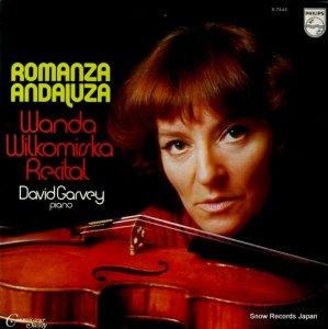 ワンダ・ウィウコミルスカ - アンダルシアのロマンス/ヴァイオリン小品集 - X-7545