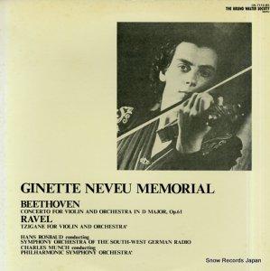 ジャネット・ヌヴー - ベートーヴェン:ヴァイオリン協奏曲ニ長調 - OS-7118-BS