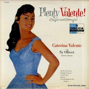 カテリーナ・ヴァレンテ - plenty valente! singin' and swingin' - DL8440