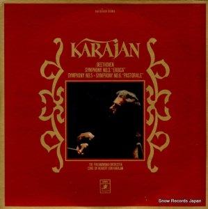 ヘルベルト・フォン・カラヤン - ベートーヴェン:交響曲第3番「英雄」、第5番「運命」 - EAA-93165B