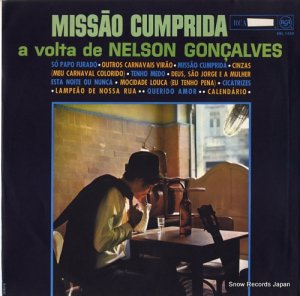 ネルソン・ゴンサウヴェス - missao cumprida - BBL1450
