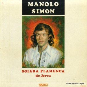 マノロ・シモン - solera flamenca de jerez - PSD-2031