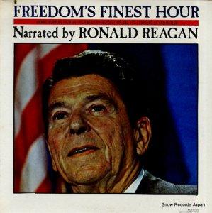 ロナルド・レーガン - freedom's finest hour - MCA-37122