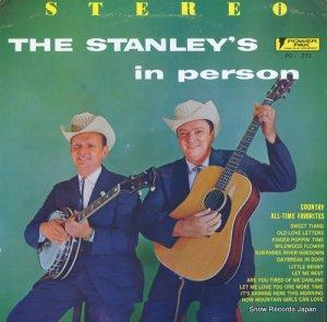 ザ・スタンレー・ブラザーズ - the stanley's in person - PO-273