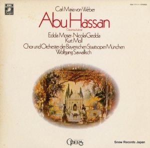 ヴォルフガング・サヴァリッシュ - ウェーバー:歌劇「アブ・ハッサン」全曲 - EAC-77111