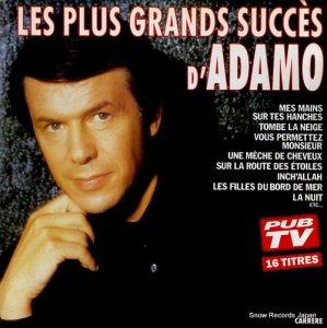 アダモ - les plus grands succes d'adamo - 66701