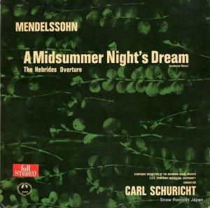 カール・シューリヒト - メンデルスゾーン:真夏の夜の夢 - M-2214