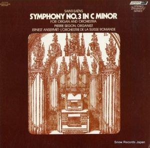 エルネスト・アンセルメ - saint-saens; symphony no.3 in c minor - STS15154